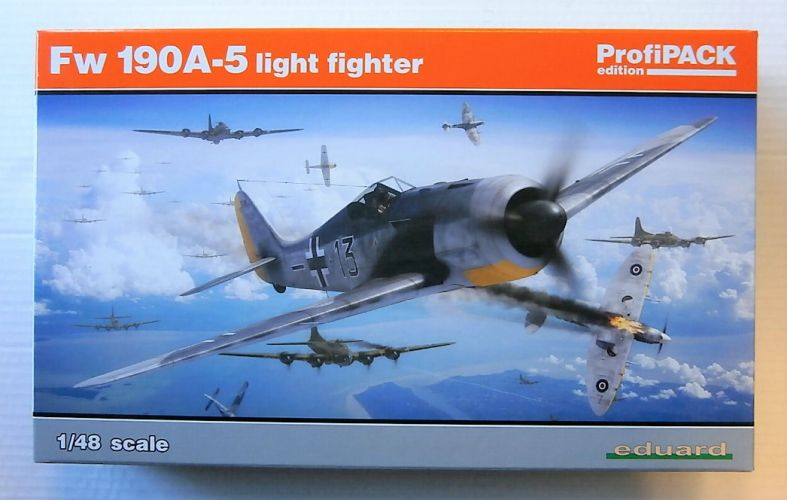 EDUARD 1/48 82143 FW 190A-5 LIGHT FIGHTER PROFIPAK
