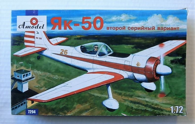 A MODEL 1/72 72094 YAK-50 SECOND SERIAL VERSION