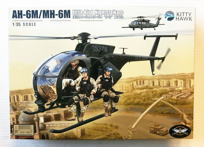 KITTYHAWK 1/35 50002 AH-6M/ MH-6M LITTLE BIRD NIGHT STALKERS