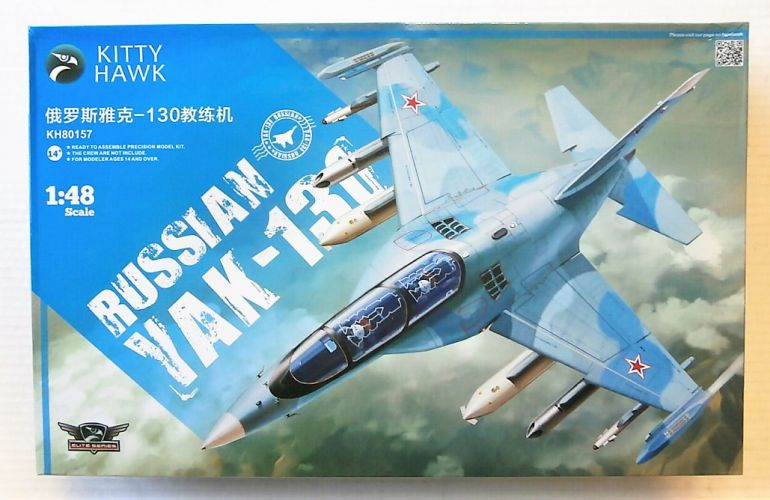KITTYHAWK 1/48 80157 RUSSIAN YAK-130