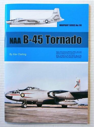 WARPAINT  118. NAA B-45 TORNADO