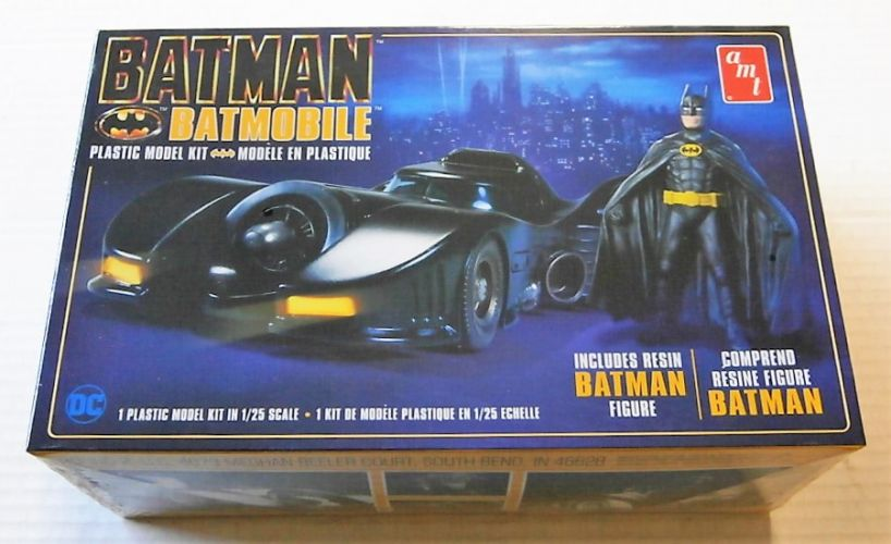 AMT 1/25 1107 1989 BATMAN   BATMOBILE