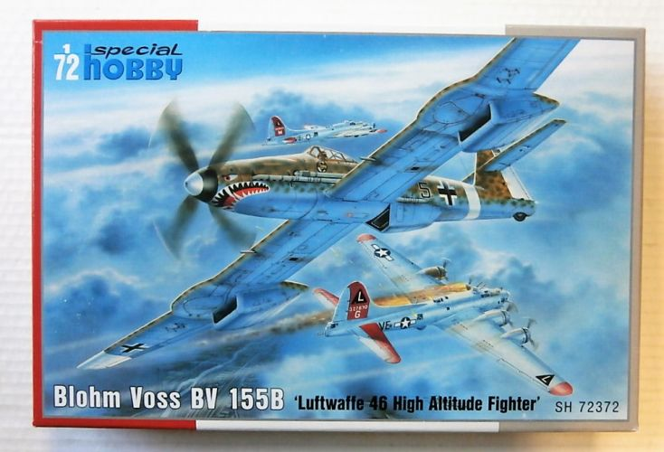 SPECIAL HOBBY 1/72 72372 BLOHM VOSS BV 155B