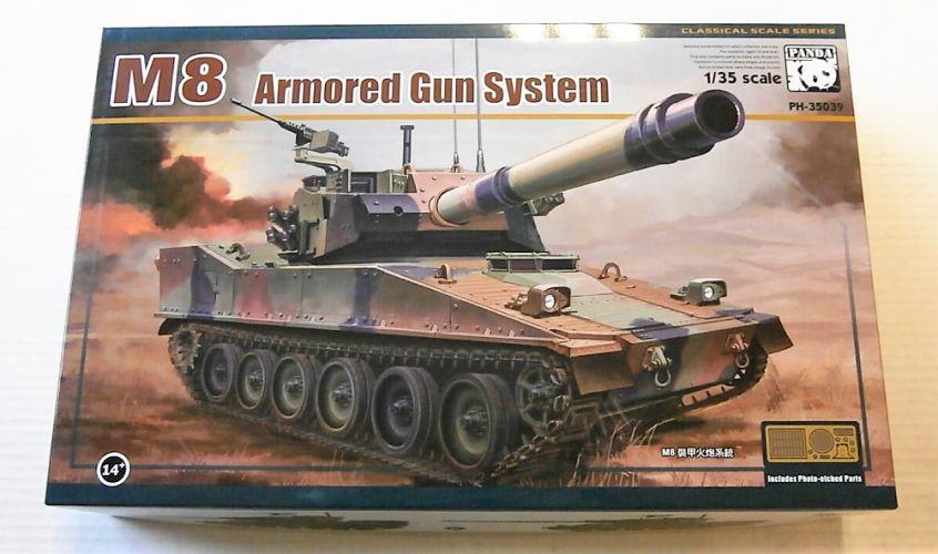 PANDA 1/35 35039 M8 ARMOURED GUN SYSTEM