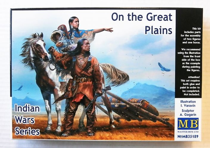 MASTERBOX 1/24 35189 INDIAN WAR SERIES - ON THE GREAT PLAINS