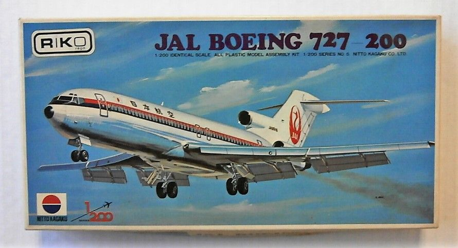 NITTO 1/200 319 JAL BOEING 727-200