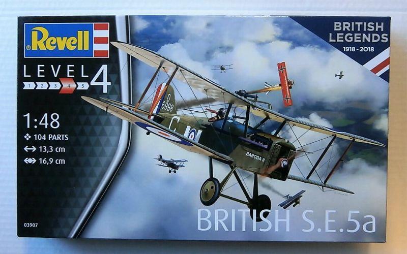 REVELL 1/48 03907 BRITISH LEGENDS 1918 - 2018 - BRITISH S.E.5a