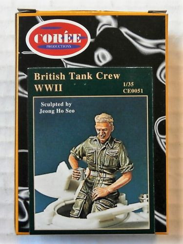 COREE 1/35 0051 BRITISH TANK CREW WWII