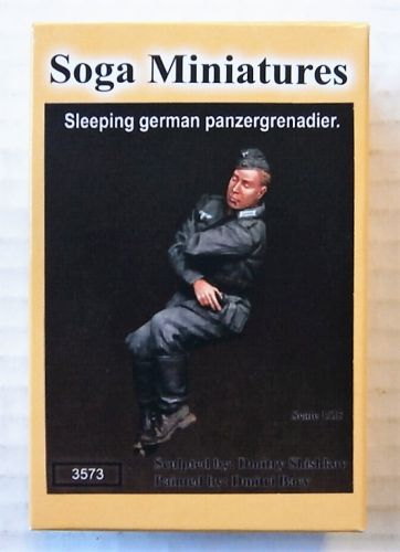 SOGA 1/35 3573 SLEEPING GERMAN PANZERGRENADIER