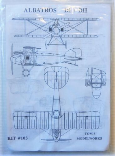 TOMS MODELWORKS 1/48 103 ALBATROS DI/ DII