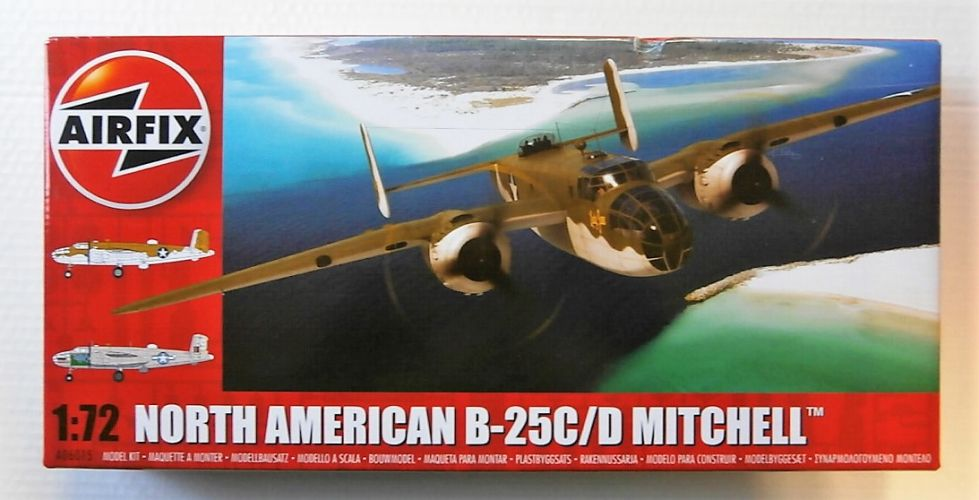 AIRFIX 1/72 06015 NORTH AMERICAN B-25C/D MITCHELL