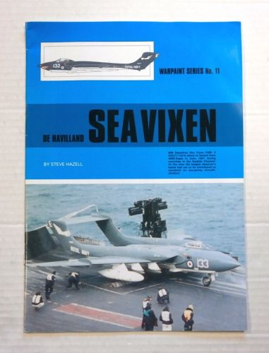 WARPAINT  011. DE HAVILLAND SEA VIXEN