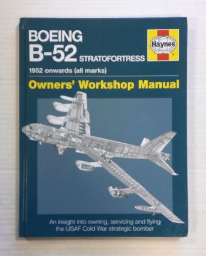CHEAP BOOKS  ZB1407 HAYNES BOEING B-52 STRATOFORTRESS 1952 ONWARDS  ALL MARKS