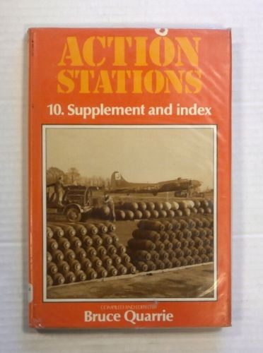 CHEAP BOOKS  ZB1433 ACTION STATIONS 10. SUPPLEMENT AND INDEX - BRUCE QUARRIE
