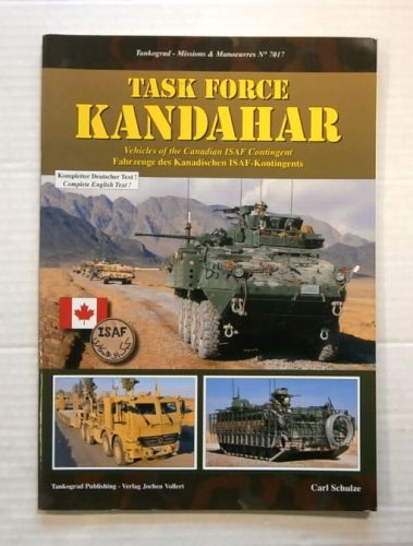 TANKOGRAD  7017 TASK FORCE KANDAHAR VEHICLES OF THE CANADIAN ISAF CONTINGENT