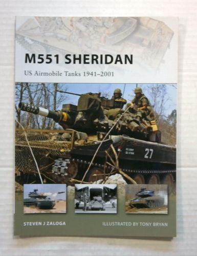NEW VANGUARDS  153. M551 SHERIDAN US AIRMOBILE TANKS 1941-2001