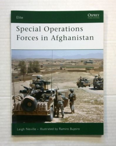 OSPREY ELITE  163. SPECIAL OPERATIONS FORCES IN AFGHANISTAN