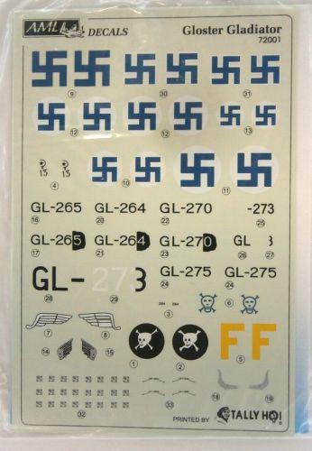 AML 1/72 2170. 72001 GLOSTER GLADIATOR