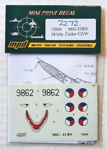 1/72 2272. MPD 72004 MiG-23BN