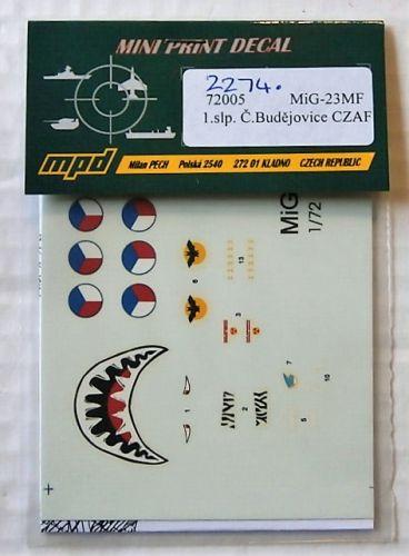 1/72 2274. MPD 72005 MiG-23MF