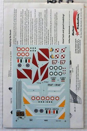CUTTING EDGE 1/72 2281. 72002 MiG-29 FULCRUM A  NON-CIS AIR FORCES