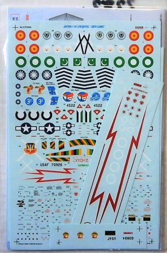 ALBATROSS 1/72 2282. 72006 EXOTIC STARS - WORLDWIDE F-104s