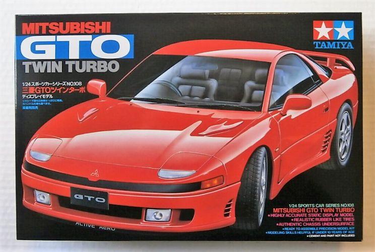 TAMIYA 1/24 24108 MITSUBISHI GTO TWIN TURBO