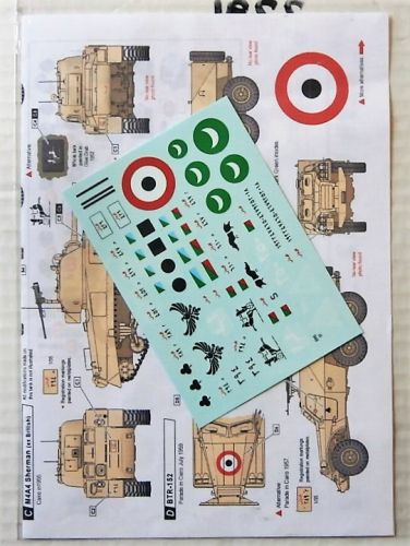 1/35 2291. STAR DECALS 35946 EGYPTIAN TANKS IN THE 1950s