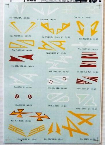 MICROSCALE 1/72 2298. 7270 JAPANESE SQUADRON MARKINGS
