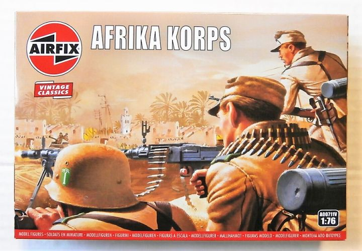 AIRFIX 1/76 A00711V VINTAGE CLASSICS - WWII AFRIKA CORPS