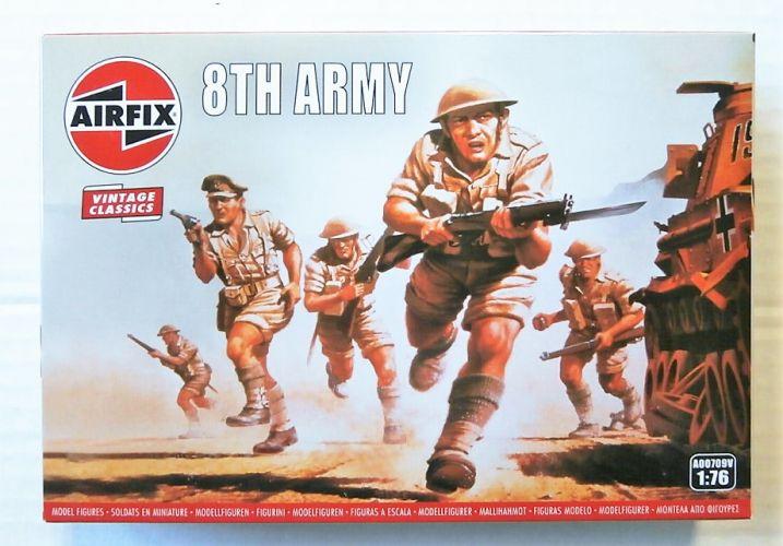 AIRFIX 1/76 A00709V VINTAGE CLASSICS - WWII BRITISH 8th ARMY