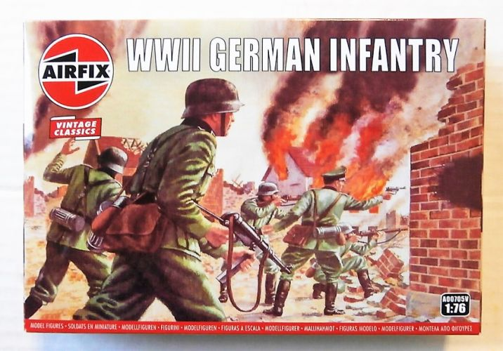 AIRFIX 1/76 A00705V  VINTAGE CLASSICS - WWII GERMAN INFANTRY