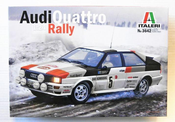 ITALERI 1/24 3642 AUDI QUATTRO RALLY