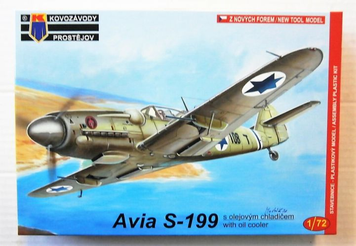 KP 1/72 0049 AVIA S-199 WITH OIL COOLER