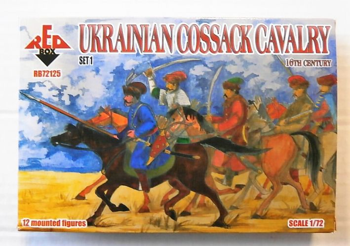 RED BOX 1/72 72125 UKRAINIAN COSSACK CAVALRY