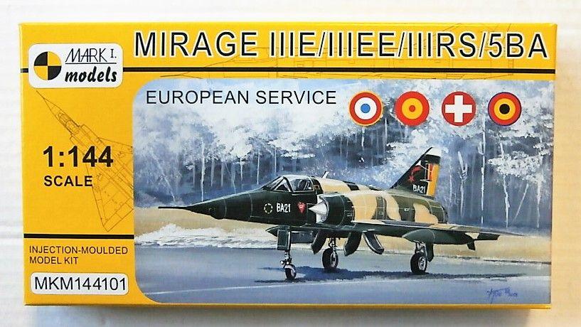 MARK I MODELS 1/144 144101 MIRAGE IIIE/IIIEE/IIIRS/5BA