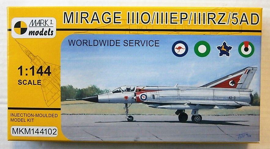MARK I MODELS 1/144 144102 MIRAGE IIIO/IIIEP/IIIRZ/5AD