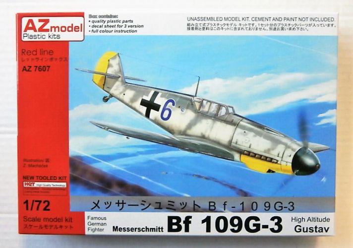 AZ MODEL 1/72 7607 MESSERSCHMITT BF 109G-3 GUSTAV