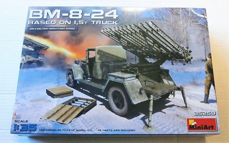 MINIART 1/35 35259 BM-8-24 BASED ON 1.5t TRUCK