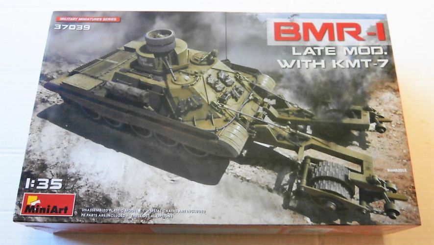 MINIART 1/35 37039 BMR-1 LATE MOD WITH KMT-7