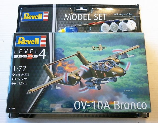 REVELL 1/72 63909 OV-10A BRONCO - MODEL SET