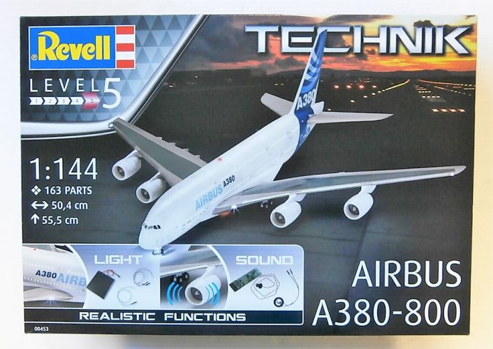 REVELL 1/144 00453 AIRBUS A380-800 - TECHNIK  UK SALE ONLY