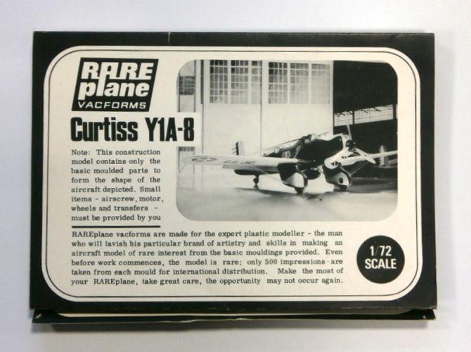 RAREPLANE 1/72 CURTISS Y1A-8