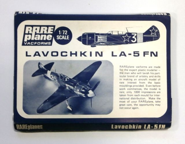 RAREPLANE 1/72 LAVOCHKIN LA-5 FN