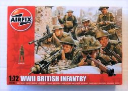 AIRFIX 1/72 00763 WWII BRITISH INFANTRY