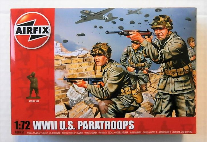 AIRFIX 1/72 00751 WWII U.S PARATROOPS