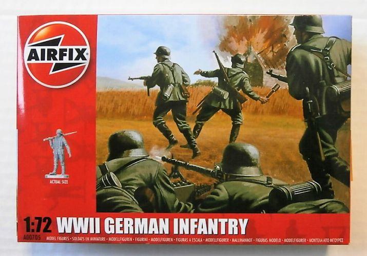 AIRFIX 1/72 00705 WWII GERMAN INFANTRY