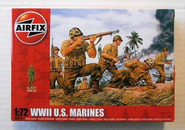 AIRFIX 1/72 00716 WWI U.S MARINES