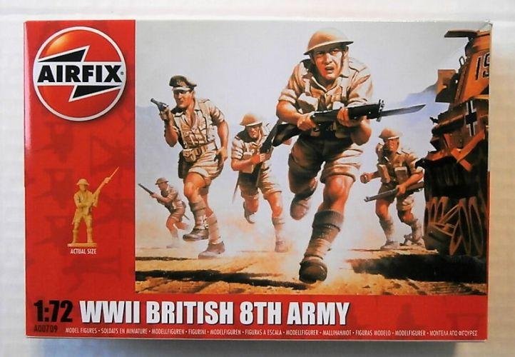 AIRFIX 1/72 00709 BRITISH 8TH ARMY