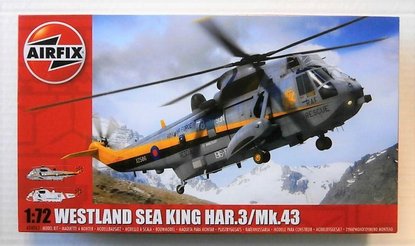 AIRFIX 1/72 04063 WESTLAND SEA KING HAR.3/Mk.43
